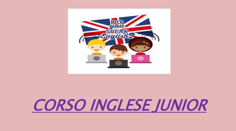 CORSO – Inglese Junior