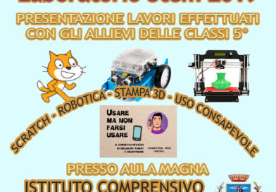 EVENTO – PROGETTO NEXT5-14- LABORATORIO STEM 2019 – ISTITUTO MOSCIANO CAPOLUOGO