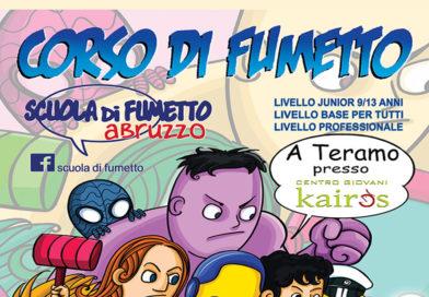 Corso – Scuola di Fumetto – Vuoi diventare un disegnatore di fumetti?