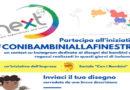 CON I BAMBINI ALLA FINESTRA – Contest disegni bambini e ragazzi – Progetto Next 5-14